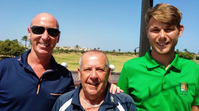 Gold; David, Tony & Joost.
