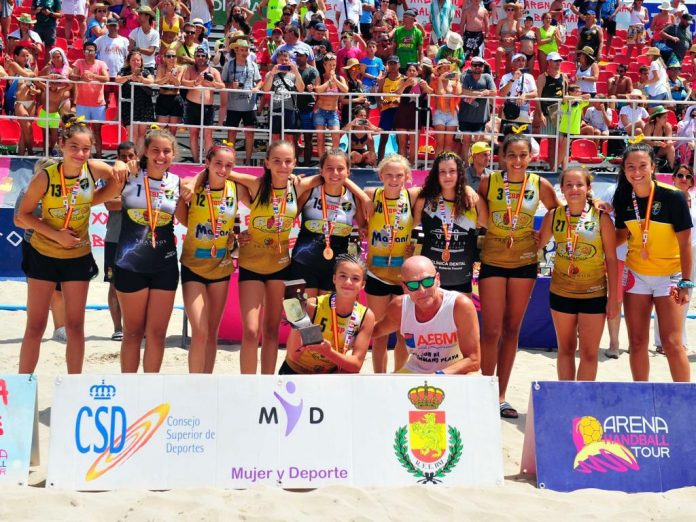 El Rayito Salinero infantiles are the champions of Spain.