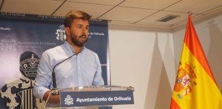 Deputy mayor of Orihuela Jose Aix
