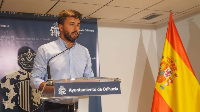 Deputy mayor of Orihuela Jose Aix