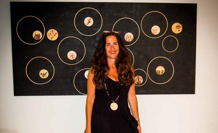 INTERNATIONAL ARTIST MYRIAM VELA BLANCA ON SHOW IN MOJÁCAR
