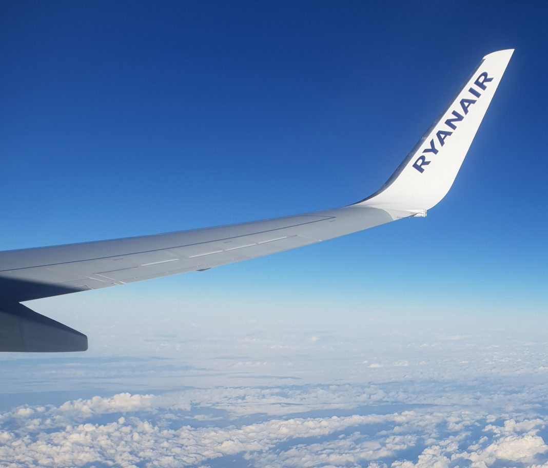 ON A WING - AND A PRAYER - AS FLIGHTS RETURN