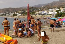 """JUNIOR LIFEGUARDS"" ON MOJÁCAR'S BEACHES"