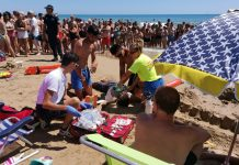 La Mata Beach Emergency Drills