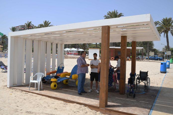 Orihuela Costa now has four adapted beaches