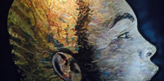 Muhammad Ali. Portrait by Iain Alexander. ALTR ego @ altregoart