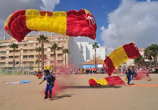 La Mata's Day of Coexistence with the Military