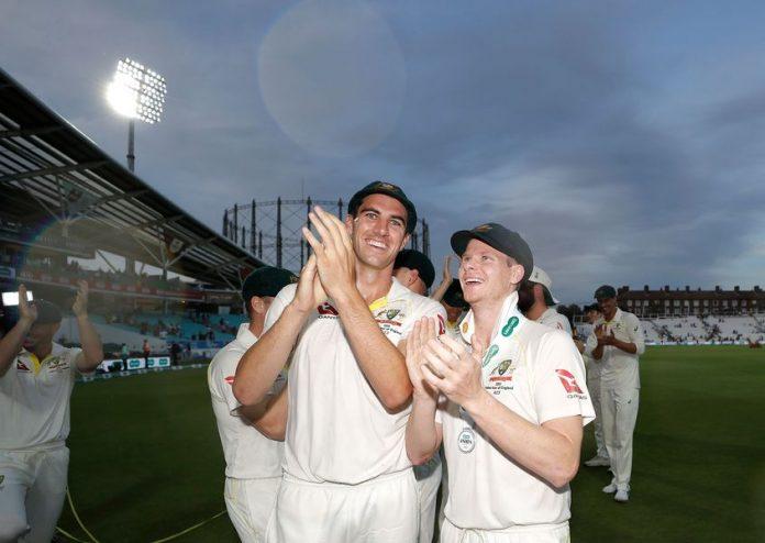 Australia cricket pair of Steve Smith and Pat Cummins