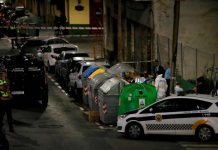 Dead baby found in Alicante dustbin