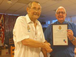 Bob Hall and Keith Brown