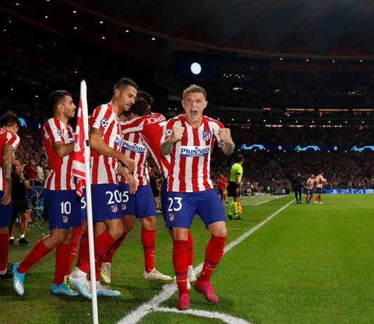 Atleti fans fall in love with Trippier