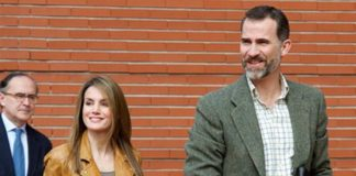 King Felipe and Leticia