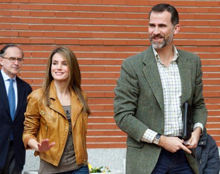 King Felipe and Leticia