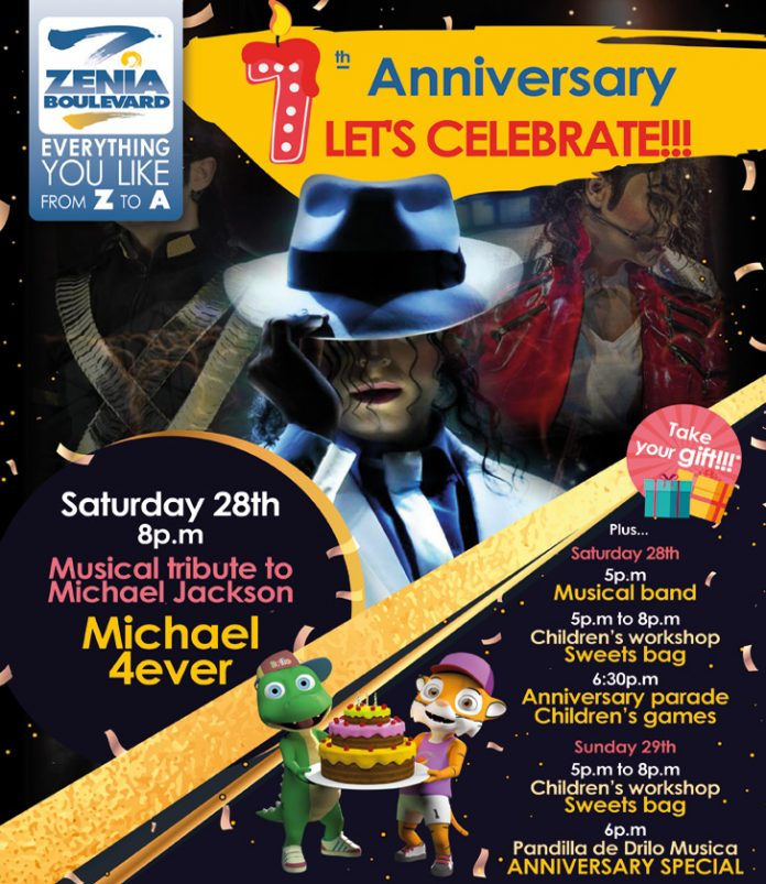 La Zenia comes alive as Michael Jackson sets to perform at the Boulevard
