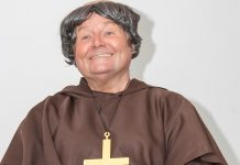 Father MacStake is played by Andy Kirkwood
