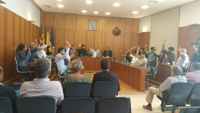 Plenary declares Orihuela as an area seriously affected by the floods