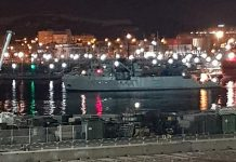 The Minesweeper Turia finally limps into Cartagena