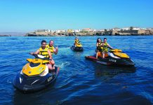 The largest gathering of jet skis in Spain
