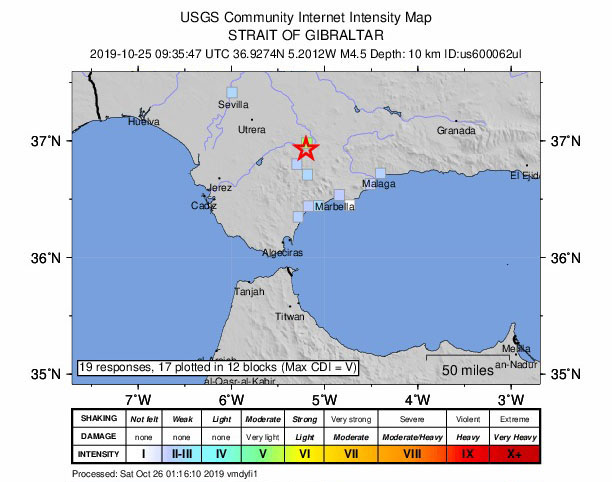 AN earthquake measuring 4.7 on the Richter scale has hit
