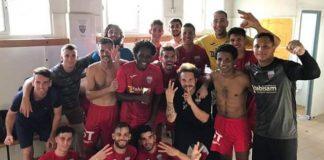Racing San Miguel 1st Regional 3-1 win against Alguena CF.