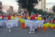 Los Montesinos Fiestas Patronales 2019 Great Parade-Floats spectacular