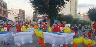 Los Montesinos Fiestas Patronales 2019 Great Parade-Floats spectacular