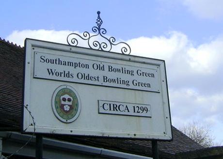 Southampton Old Bowling Green c.1299.