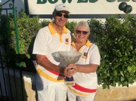 Annie Jones and Dudley Davies won the Australian Pairs