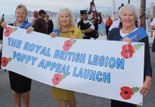RBL POPPY APPEAL LAUNCH, BENIDORM – 18 OCTOBER