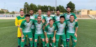 *CD Benijofar ahead of a 3-1 away win at Atletico Algorfa.
