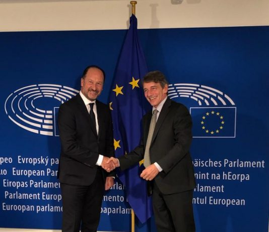 Orihuela mayor visits Brussels to ask for EU Aid