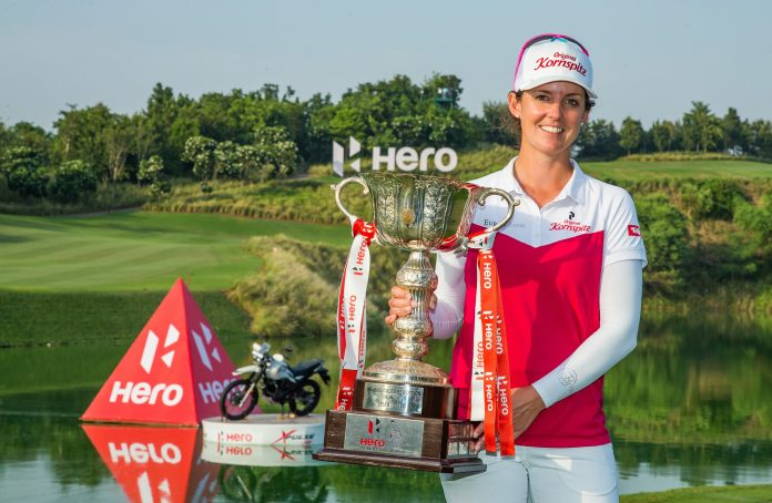 Christine Wolf claimed her first Ladies European Tour title.