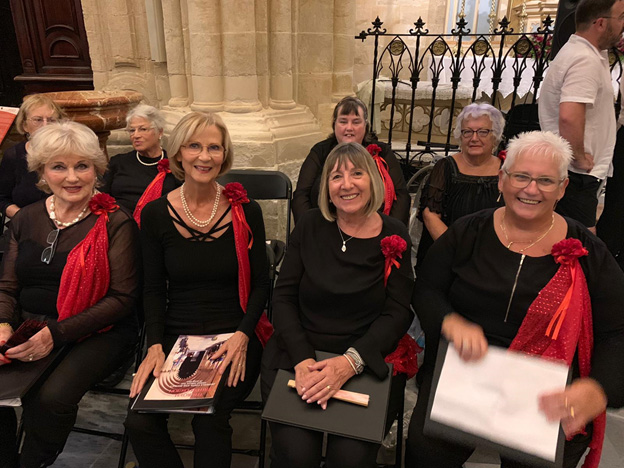 Crescendo International Choir at Orihuela cathedral with the RBL