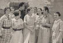 English nurses working at Polenino on the Aragon front