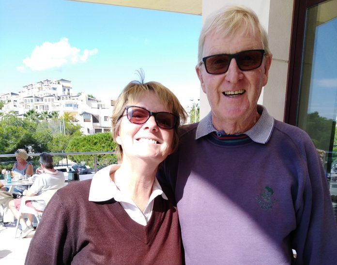 Mike Mahony and Olga Douglas
