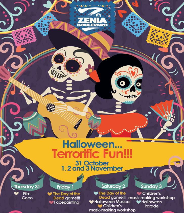 Enjoy a weekend of Halloween at the fabulous La Zenia Boulevard Shopping Center