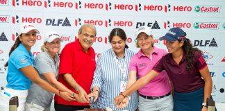 Celebrating 10 years of LET and Hero's involvement in Hero Women's Indian Open