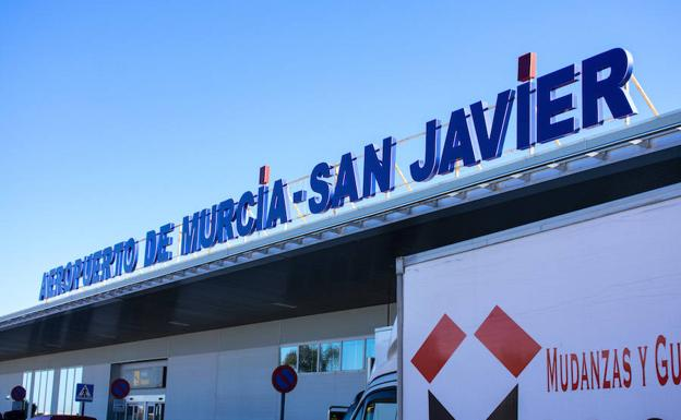 San Javier airport on its final day
