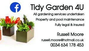 Tidy garden