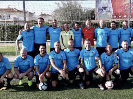 Orihuela Costa Veteranos suffer shock first league defeat.
