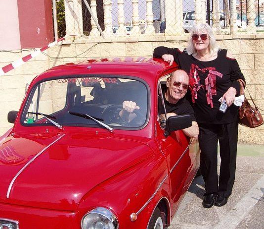 Happier times for David & Angela Hudson