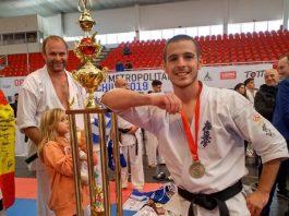 Eneko Delgado has been crowned the Karate World Champion