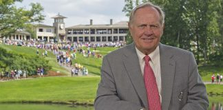 Jack Nicklaus at Muirfield Village Golf Club. (Chris Condon/PGA TOUR)