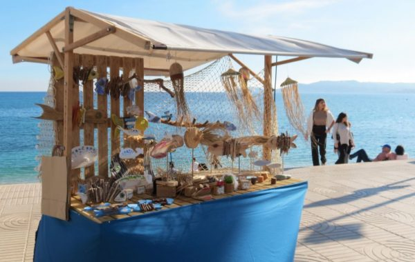 Seafood Tapas and an AMATA Craft Fair in the Port of Jávea