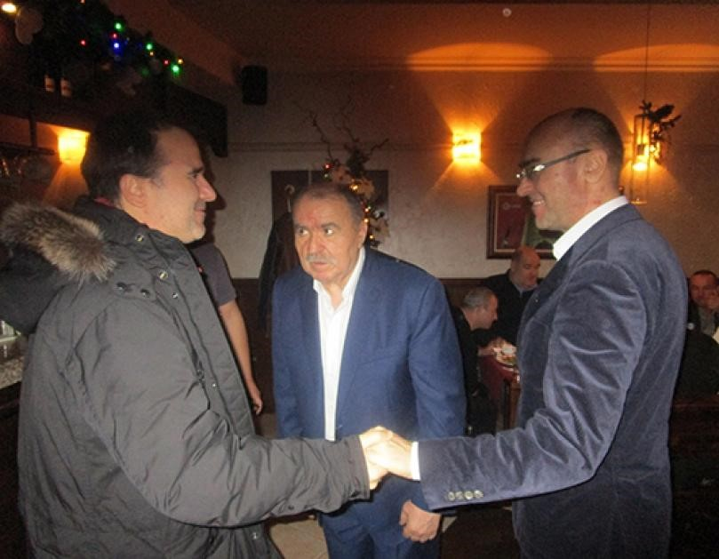 The two Naydenov Brothers with their Father Stefan also known as Agent Nikolov