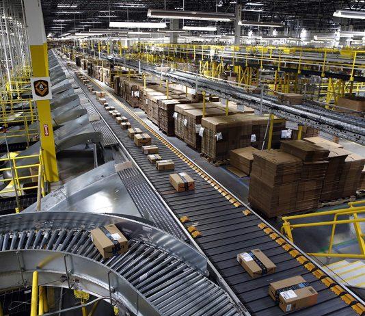 New distribution centre for Amazon in Corvera
