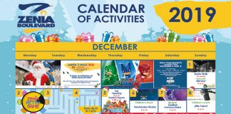 La Zenia Boulevard Calendar of Activities for December 2019