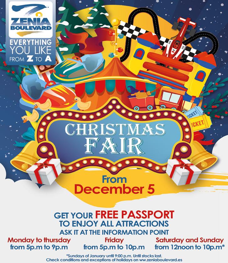 La Zenia Boulevard Christmas Fair 2019