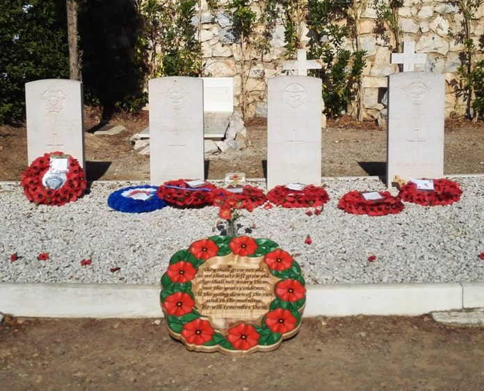The English cemetery in Malaga