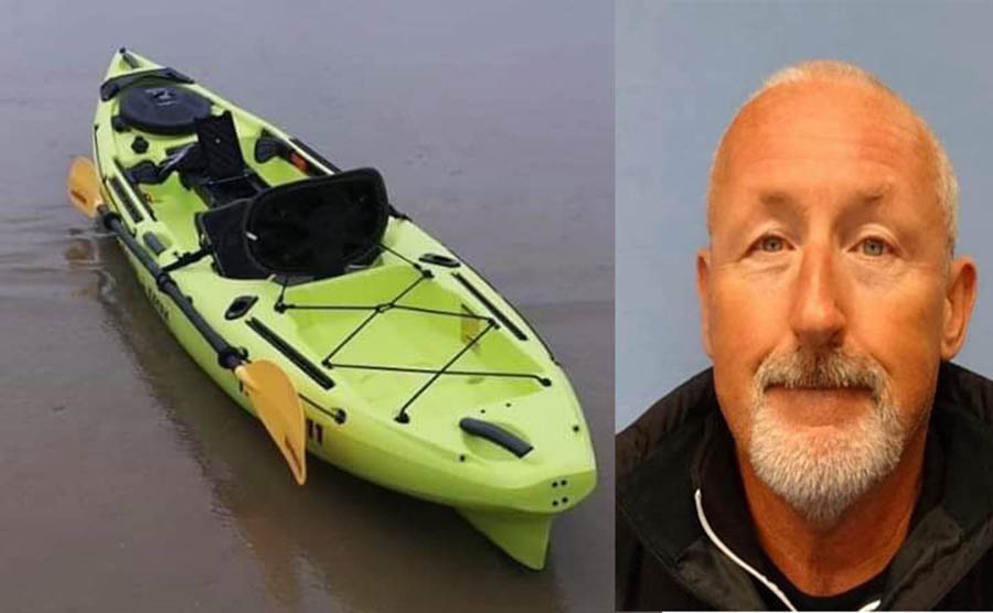Kenneth McPherson: Last seen in Torrevieja Marina in lime green Kayak.